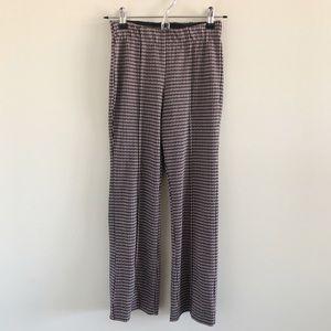 Anthropologie Pants - Anthro Eva Franco Houndstooth Crop Flare Pants XXS